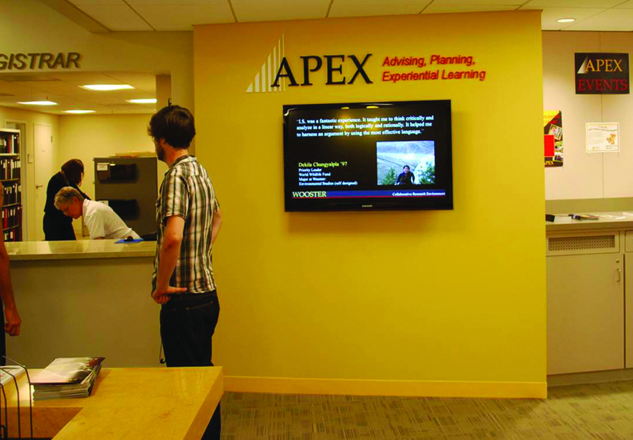 APEX brings together student resources