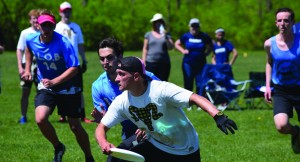 Frisbee teams compete at sectionals