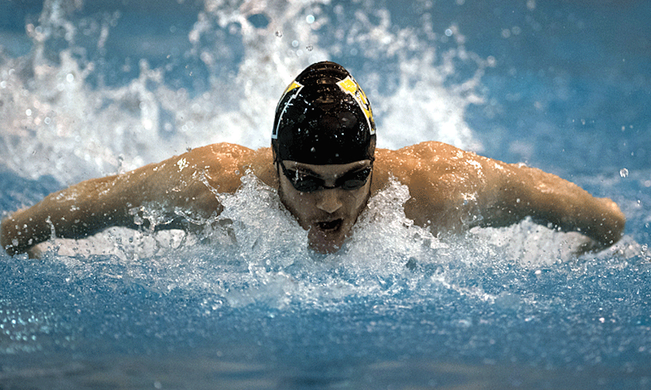 Swimming and diving teams finish in fourth at NCAC