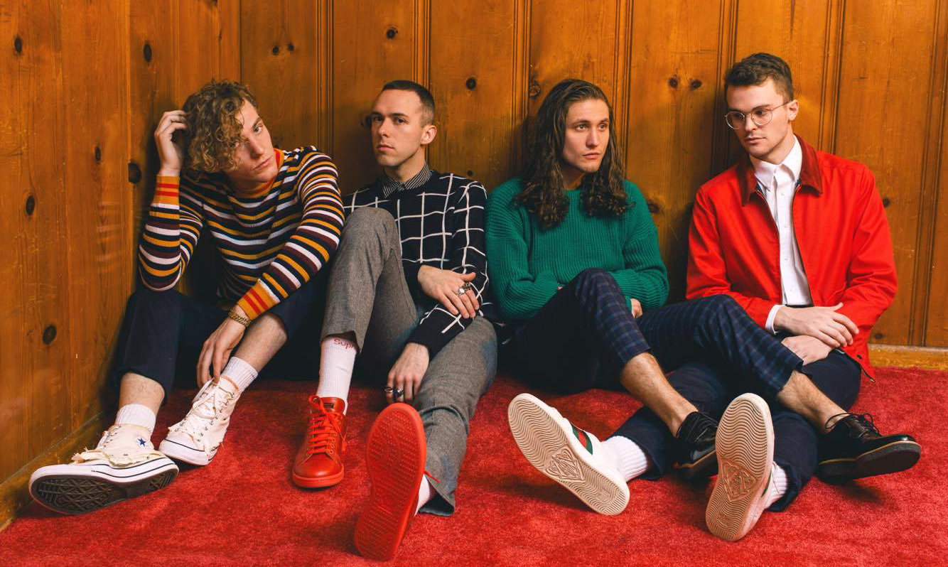 An interview with the band COIN, tomorrow's Springfest headliner