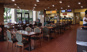 Dining Services contemplates Mom's closing early
